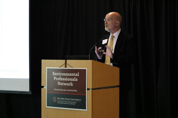 SENR Faculty member Roger Williams presenting at the EPN September 2021 EPN Breakfast program,
