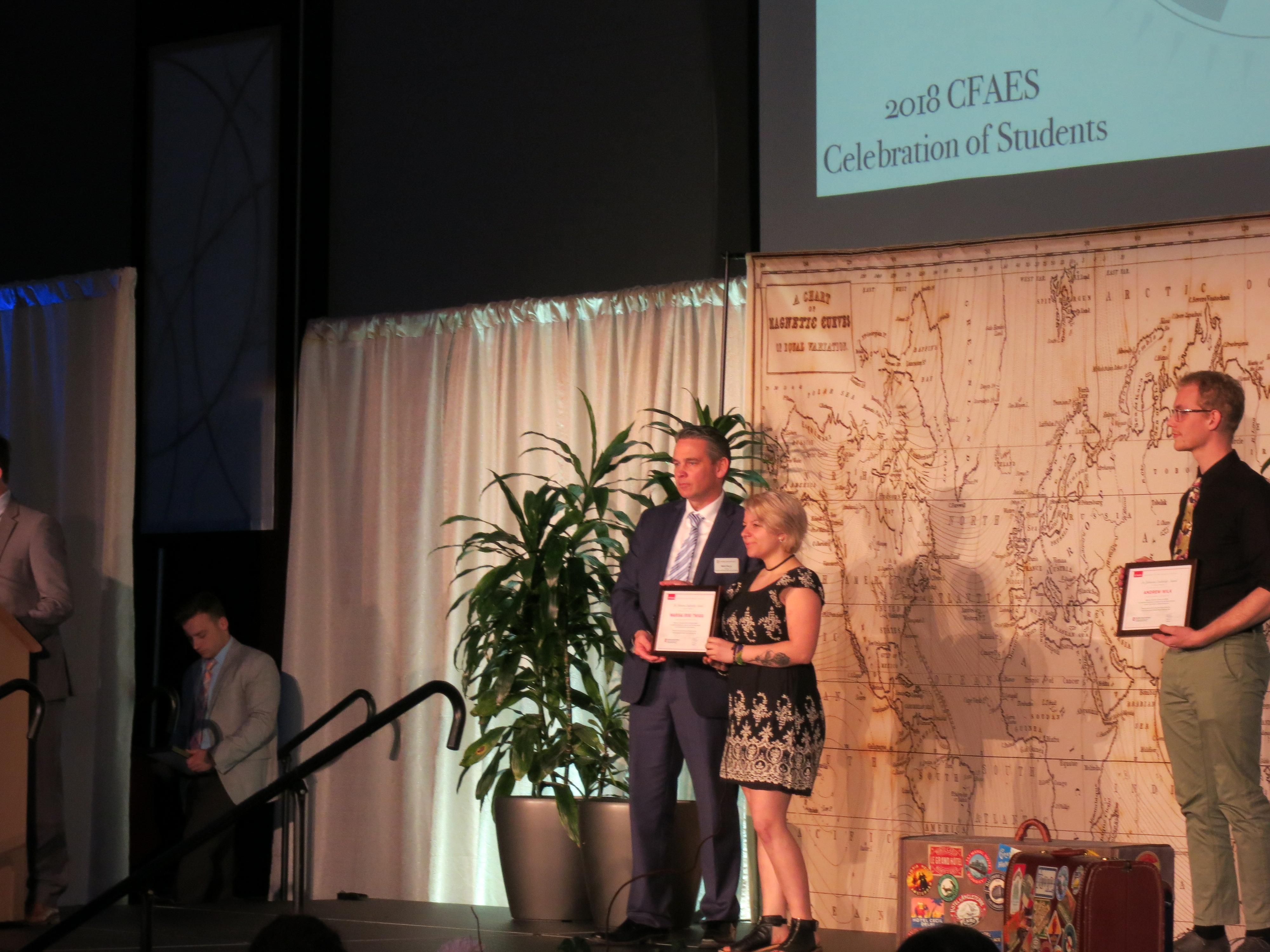 Ris Twigg- Lee Johnston Award