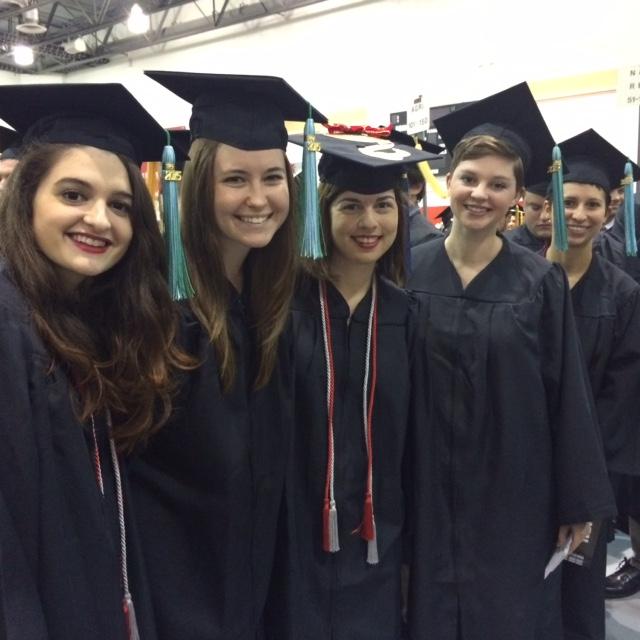Congratulations Autumn 2015 ENR Graduates!