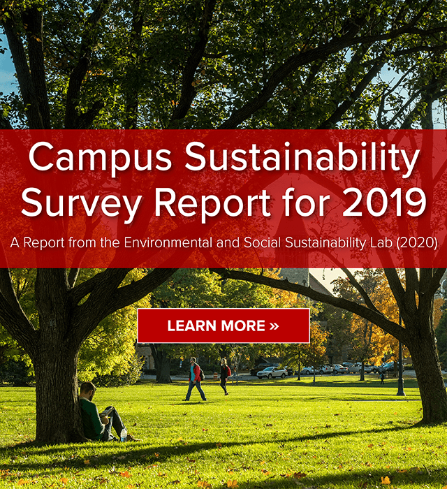 Campus Sustainability Survey Report for 2019