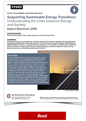 2019 SENR Impact - Supporting Sustainable Energy Transitions