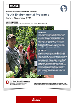 Youth Environmental Programs