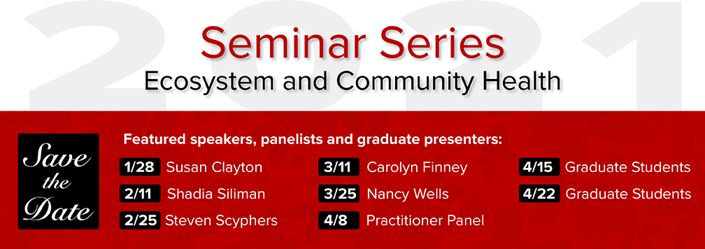 Seminar Series - Save the Date