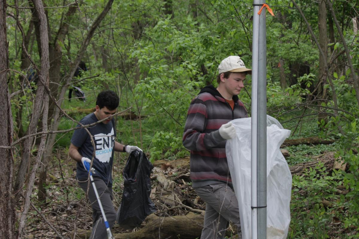 Earth Day 2017 Service Day at the Wetlands.
