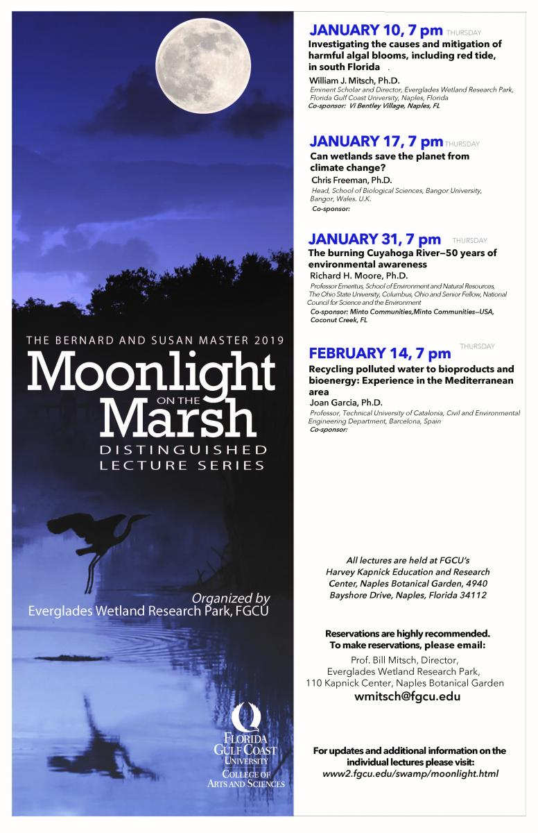 2019 Moonlight on the Marsh Lecture