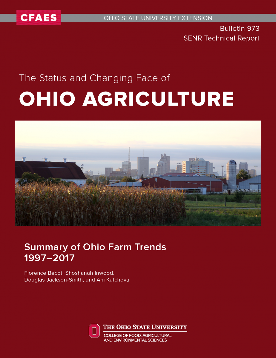 The Status and Changing Face of Ohio Agriculture Technical Bulletin