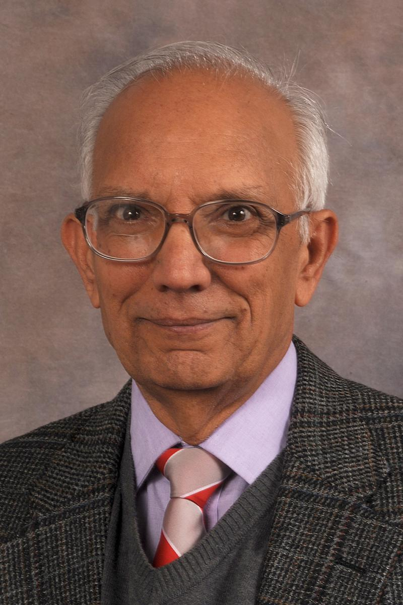 Distinguished University Professor of Soil Science Rattan Lal