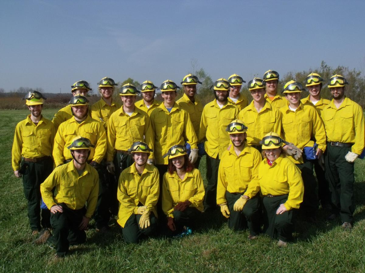 Wildland Fire Management Course Conducts Prescribed Burn Senr