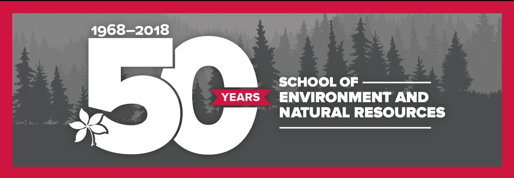 50 Years of the School of Environment and Natural Resources