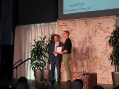 Andrew Will- Lee Johnston Award