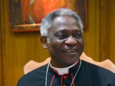 Cardinal Peter Turkson by AFP