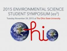 2015 Environmental Science Student Symposium