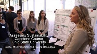 Assessing Sustainability Capstone Course Ohio State University
