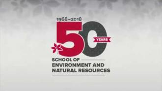 The School of Environment and Natural Resources' 50-Year Anniversary