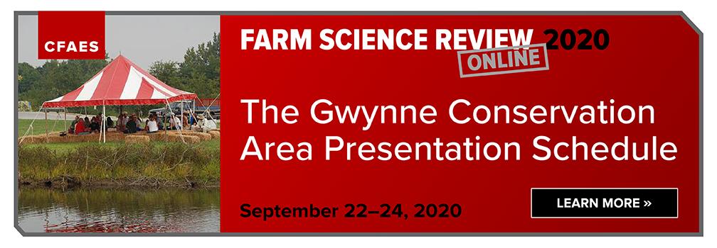 The Gwynne Conservation Area Presentation Schedule