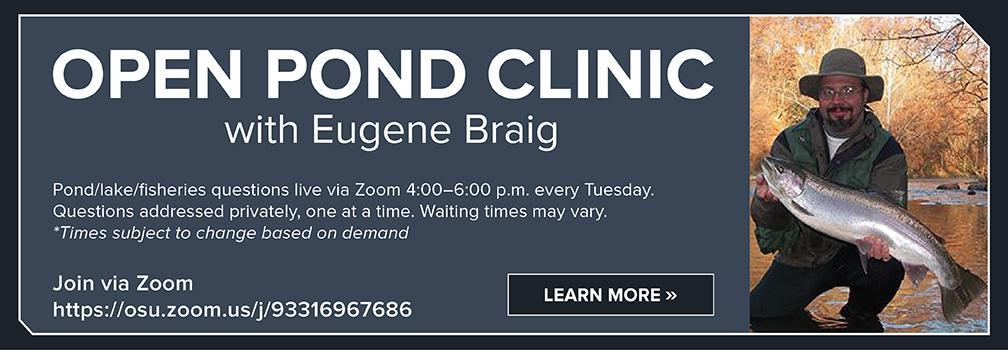 Open Pond Clinic with Eugene Braig