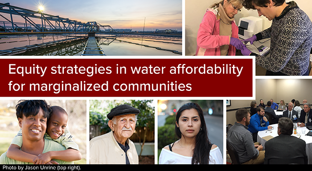 Water affordability for marginalized communities.