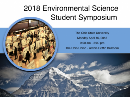 View scientific posters on environmental topics of interest to students at The Ohio State University.