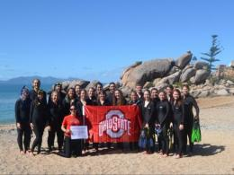 Students and resident directors in the Sustaining Human Societies and the Environment - Australia Education Abroad program (May 2016)