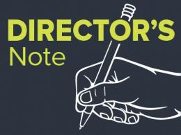 April 2020 Director's Note to Alumni