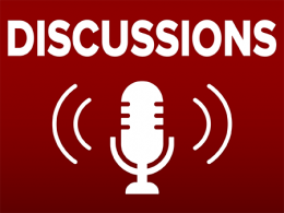 Microphone with Discussions