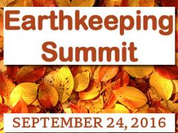 The 2016 Earthkeeping Summit will be held on the campus of The Ohio State University, September 24, 2016.