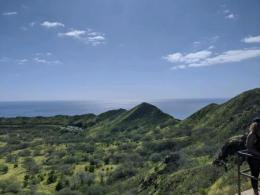 The crater at Diamond Head. (Photo credit: Kevin Fisher)
