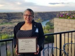 Dr. Suzanne Gray is a recipient of the 2019 NACTA Educator Award.