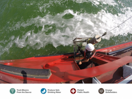 Image on cover of 2021 Harmful Algal Bloom Project Update