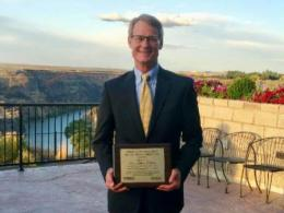 Jeffory Hattey, professor in the School of Environment and Natural Resources at The Ohio State University was awarded the 2019 North American Colleges and Teachers of Agriculture (NACTA) Distinguished Educator Award.