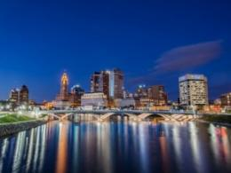 The next Environmental Professionals Network breakfast program will look at making our infrastructure sustainable. (Photo: Rich Street Bridge, Columbus, by David Rigg, iStock.)