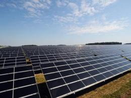 The 2017 Energy Impacts Symposium will look at how new energy development affects people, communities and economies. (Photo: Solar farm, Wyandot County, Ohio, Ken Chamberlain, CFAES.)