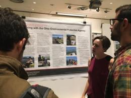 On November 8 over 70 internship posters were on display in the Agricultural Administration Auditorium on the campus of The Ohio State University.