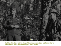 Explore the past, present and future of Ohio's forest resources in new digital exhibit.