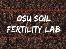 A new website focused on Soil Fertility is available for farmers, crop consultants and educators interested in a wide range of soil fertility and management issues.