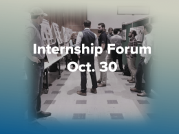 Ohio State students will showcase their internships at a forum on Oct. 30.