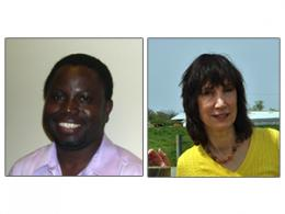Lazarus Adua and Linda Lobao
