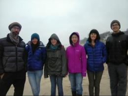 Attendees at the Society of Ecological Restoration's Midwest-Great Lakes Chapter meeting had the opportunity to attend three field trips. Attending the Coastal Wetlands and Dune Restoration Field Trip (L to R) were Dr. Matt Davies, Jo Kingsbury, Rachel Glover, Yuhsan Hao, Julie Slater and Jim Palus.