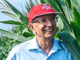 Renowned soil scientist Rattan Lal is one of Ohio State's most decorated teachers and researchers. (Photo by Jo McCulty, Ohio State Communications)