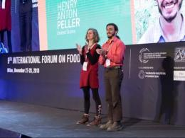 Team recognized at the at the 9th International Forum on Food and Nutrition for project to improve the sustainability of our food system.