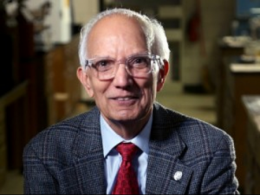 Rattan Lal, Distinguished University Professor of Soil Science at CFAES, is the first Ohio State scientist and the first soil scientist to win the annual Japan Prize. (Photo: John Rice, CFAES.)