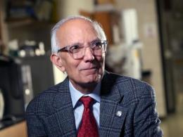 Rattan Lal, Distinguished University Professor of Soil Science at The Ohio State University, has received the 2018 World Agriculture Prize from the Global Confederation of Higher Education Associations for Agricultural and Life Sciences. (Photo: John Rice, CFAES.)