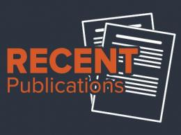 Recent publications by SENR faculty, staff and students.
