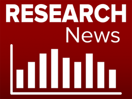 Research News with an image of a graph.
