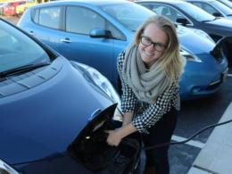 Recent Graduate Sarah Fischer Pursues Career in Sustainable Energy.