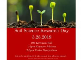 Soil Science Research Day, March 28