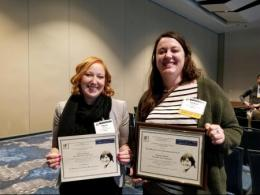 SENR Graduate Students recognized for fisheries achievement.