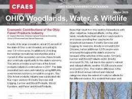 Ohio Woodlands, Water & Wildlife Newsletter
