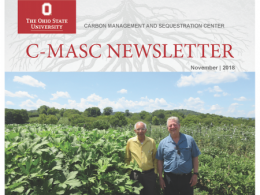 Read more about Professor Lal's visit to Caney Fork Farms in the latest edition of the C-MASC newsletter. Caney Fork Farms is headquartered on former Vice President Al Gore's family farm. Professor Lal is shown alongside former Vice President Al Gore on Caney Fork Farms.