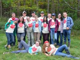 Members of The Ohio State Soil Judging Team recently competed in the Northeast Regional Collegiate Soils Contest.